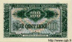 100 Leke ALBANIE  1957 P.30a pr.NEUF
