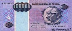 100000 Kwanzas Reajustados ANGOLA  1995 P.139 NEUF