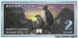 2 Dollars ANTARCTICA  1999 P.- NEUF