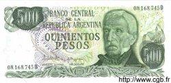 500 Pesos ARGENTINE  1982 P.303c NEUF