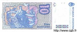 10 Australes ARGENTINE  1986 P.325b NEUF