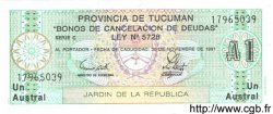 1 Austral ARGENTINE  1991 PS.2711b NEUF