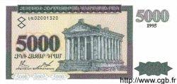 5000 Dram ARMÉNIE  1995 P.40 pr.NEUF
