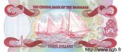 3 Dollars BAHAMAS  1984 P.44 NEUF