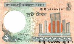 2 Taka BANGLADESH  1989 P.06Ca NEUF