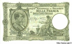 1000 Francs Ou 200 Belgas BELGIQUE  1944 P.110 pr.NEUF