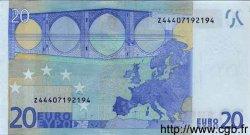 20 Euro EUROPE  2002 €.120.13 NEUF