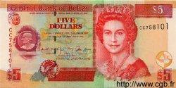 5 Dollars BELIZE  2002 P.65var. NEUF