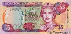5 Dollars BERMUDES  2000 P.51 NEUF