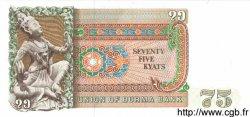 75 Kyats BIRMANIE  1985 P.65 NEUF