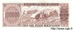 100000 Pesos Bolivianos BOLIVIE  1984 P.171 NEUF