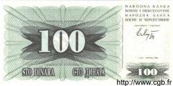 100 Dinara BOSNIE HERZÉGOVINE  1992 P.013a NEUF