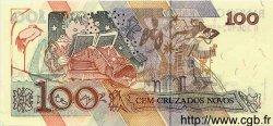 100 Cruzados Novos BRÉSIL  1989 P.220a NEUF