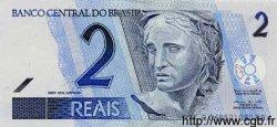 2 Reals BRÉSIL  2001 P.249 NEUF