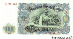 100 Leva BULGARIE  1951 P.086a NEUF