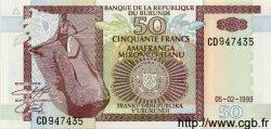 50 Francs BURUNDI  1999 P.36 NEUF