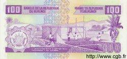 100 Francs BURUNDI  1997 P.37 NEUF