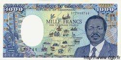 1000 Francs CAMEROUN  1990 P.26b pr.NEUF