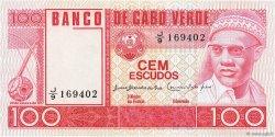 100 Escudos CAP VERT  1977 P.54a NEUF