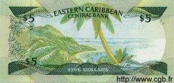 5 Dollars CARAÏBES  1988 P.22c NEUF