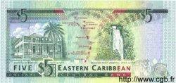 5 Dollars CARAÏBES  1993 P.26e NEUF
