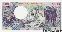 1000 Francs CENTRAFRIQUE  1980 P.10 NEUF