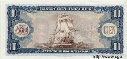 100 Escudos CHILI  1962 P.141a pr.NEUF