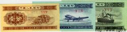 1 Fen, 2 Fen et 5 Fen CHINE  1953 P.0860b/861b/862b NEUF