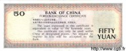 50 Yuan CHINE  1988 P.FX8 SPL