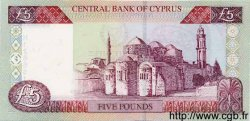 5 Pounds CHYPRE  2001 P.61 NEUF