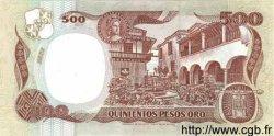 500 Pesos Oro COLOMBIE  1993 P.431A NEUF