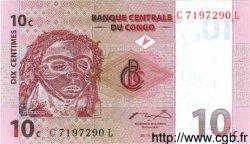 10 Centimes CONGO  1997 P.82a NEUF