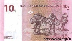 10 Centimes CONGO (RÉPUBLIQUE)  1997 P.082a NEUF