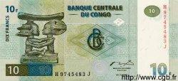 10 Francs CONGO  1997 P.87a NEUF