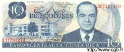 10 Colones COSTA RICA  1983 P.237b NEUF