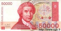 50000 Dinara CROATIE  1993 P.26a NEUF