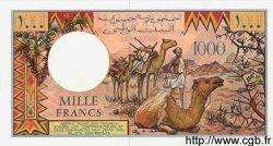 1000 Francs DJIBOUTI  1991 P.37d NEUF