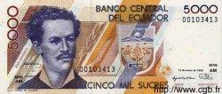 5000 Sucres ÉQUATEUR  1996 P.128b NEUF