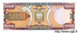 50000 Sucres ÉQUATEUR  1999 P.130b NEUF