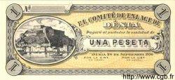 1 Peseta ESPAGNE Denia 1936 P.- NEUF