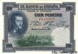 100 Pesetas ESPAGNE  1925 P.069c pr.SPL