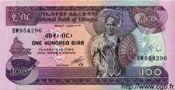 100 Birr ÉTHIOPIE  1991 P.45b NEUF