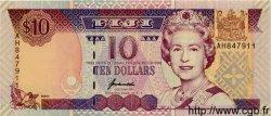 10 Dollars FIDJI  1996 P.090b NEUF