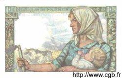10 Francs MINEUR FRANCE  1942 F.08.06 NEUF