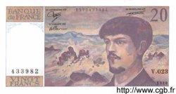 20 Francs DEBUSSY FRANCE  1988 F.66.09 pr.NEUF