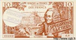 10 Francs VOLTAIRE FRANCE régionalisme et divers  1963  NEUF