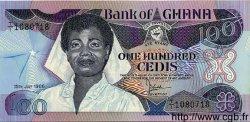 100 Cedis GHANA  1986 P.26a NEUF