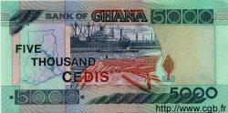 5000 Cedis GHANA  2000 P.34 NEUF