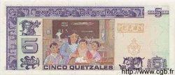 5 Quetzales GUATEMALA  1998 P.100 NEUF