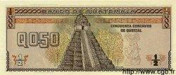 50 Centimes de Quetzal GUATEMALA  1989 P.072a NEUF